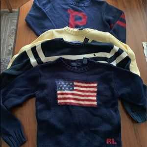 Ralph Lauren boys sweater bundle